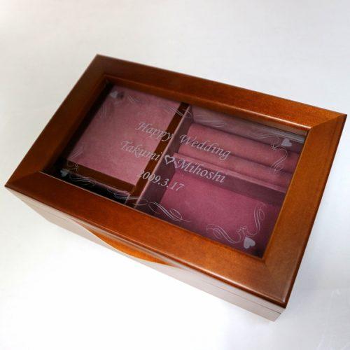 木製宝石箱OR061