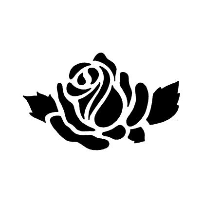 ネーム彫刻バラ