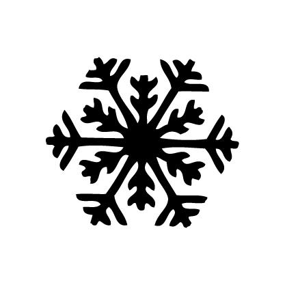 ネーム彫刻雪
